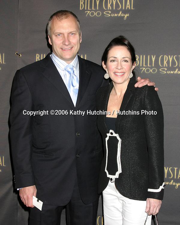 Patricia Heaton and husband.Wilshire Theater.700 Sundays LA Play Opening.Los Angeles, CA.January 12, 2006.©2006 Kathy Hutchins / Hutchins Photo....
