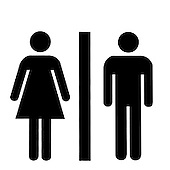 Toilet Sign - graphic