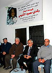 Palestinian Prime Minister Salam Fayyad, offers the condolences in the martyr Rushdie Mahmoud al-Tamimi, in the West Bank of village of Nabi Saleh, on November 22, 2012. Photo by Mustafa Abu Dayeh