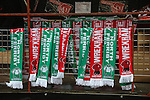 LONDON, ENGLAND - MARCH 29: North Ferriby and Wrexham merchandise ahead of the FA Carlsberg Trophy Final 2015 at Wembley Stadium on March 29, 2054 in London, England. (Photo by David Horn/EAP)