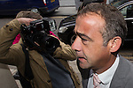 © Joel Goodman . No syndication permitted . 10/09/2013 . Manchester , UK . MICHAEL LE VELL (aka Michael Turner ) arrives at Manchester Crown Court this morning (Tuesday 10th September 2013) . The actor , who plays mechanic Kevin Webster in Coronation Street , is charged with a series of offences including rape , sexual activity with a child and indecent assault . Photo credit : Joel Goodman
