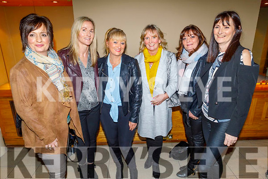 Fiona Kelly, Fiona Moriarty, Caroline Stack, Phil Quirke, Martina Colgan and Marie Colgan O'Flynn enjoying the Bon Jovee fundraiser in the Brandon Hotel on Saturday. .
