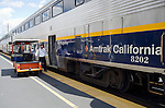 Amtrak California passanger train