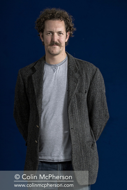 British internet technologist, journalist, author and broadcaster Ben Hammersley, pictured at the Edinburgh International Book Festival where he talked about his latest work. The three-week event is the world's biggest literary festival and is held during the annual Edinburgh Festival. The 2012 event featured talks and presentations by more than 500 authors from around the world.