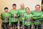 Kerry Crusaders Cyclying Event : taking part in the Kerry Crusaders cycle around North Kerry & West Limerick on Sunday last were members of the Finuge Freewheelers Pat Joe O'Sullivan, Graham Keane, George O'Grady, Nora Maloney & Mark Doody.