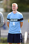 28 August 2016: San Diego's Merlin Hoeckendorff (GER). The Elon University Phoenix played the University of San Diego Toreros at Koskinen Stadium in Durham, North Carolina in a 2016 NCAA Division I Men's Soccer match. USD won the game 2-1.
