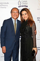 BURBANK - APR 27: Nam Loc Nguyen, Leyna Nguyen at the Faith, Hope and Charity Gala hosted by Catholic Charities of Los Angeles at De Luxe Banquet Hall on April 27, 2019 in Burbank, CA