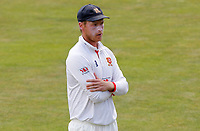 Tom Westley of Essex waits for the Kent batsmen to take the field during Essex CCC vs Kent CCC, Bob Willis Trophy Cricket at The Cloudfm County Ground on 3rd August 2020