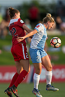 Boyds, MD - Saturday April 29, 2017: Alyssa Kleiner, Camille Levin during a regular season National Women's Soccer League (NWSL) match between the Washington Spirit and the Houston Dash at Maureen Hendricks Field, Maryland SoccerPlex.
