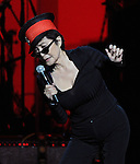 Yoko Ono performs at We are Plastic Ono Band on night 2 at The Orpheum Theatre in Downtown Los Angeles, California on October 02,2010                                                                   Copyright 2010  Debbie VanStory / RockinExposures