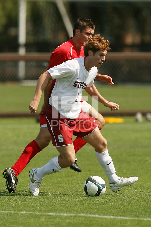 STANFORD, CA - SEPTEMBER 27:  Alexander Binnie of the Stanford Cardinal during Stanford's 2-0 win over New Mexico State on September 27, 2009 at Laird Q. Cagan Stadium in Stanford, California.