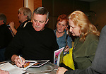 Ron Raines signs autographs for fans - So Long Springfield celebrating 7 wonderful decades of Guiding Light Event (Saturday afternoon) come to see fans at the Hyatt Regency Pittsburgh International Airport, in Pittsburgh, PA. during the weekend of October 24 and 25, 2009. (Photo by Sue Coflin/Max Photos)