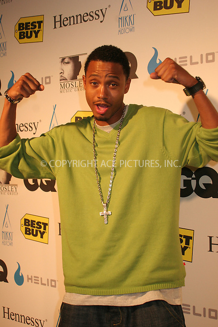 WWW.ACEPIXS.COM . . . . .  ....August 30, 2006, New York City. ....Terrance attends the Timbaland's Pre-VMA Party at Nikki midtown.....Please byline: NANCY RIVERA- ACE PICTURES.... *** ***..Ace Pictures, Inc:  ..Philip Vaughan (212) 243-8787 or (646) 769 0430..e-mail: info@acepixs.com..web: http://www.acepixs.com