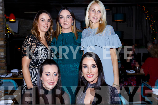 Alison McGuire enjoying her birthday celebrations at No 4 The Square, Tralee.<br /> Seated l-r, Catherine Lawlor and Alison McGuire (birthday girl). Back l-r, Claire O&rsquo;Sullivan, Sharon Clancy and Fiona Clifford.