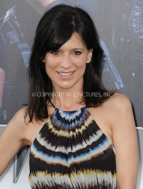 ACEPIXS.COM<br /> <br /> August 11 2014, LA<br /> <br /> Perrey Reeves arriving at the premiere of  'The Expendables 3' at the TCL Chinese Theatre on August 11, 2014 in Hollywood, California.<br /> <br /> <br /> By Line: Peter West/ACE Pictures<br /> <br /> ACE Pictures, Inc.<br /> www.acepixs.com<br /> Email: info@acepixs.com<br /> Tel: 646 769 0430