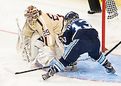 Corinne Boyles (BC - 29), Tori Pasquariello (Maine - 13) - The Boston College Eagles defeated the visiting University of Maine Black Bears 10-0 on Saturday, December 1, 2012, at Kelley Rink in Conte Forum in Chestnut Hill, Massachusetts.