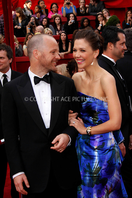 WWW.ACEPIXS.COM . . . . .  ....March 7 2010, Hollywood, CA....Actors Maggie Gyllenhaal and Peter Sarsgaard at the 82nd Annual Academy Awards held at Kodak Theatre on March 7, 2010 in Hollywood, California.....Please byline: Z10-ACE PICTURES... . . . .  ....Ace Pictures, Inc:  ..Tel: (212) 243-8787..e-mail: info@acepixs.com..web: http://www.acepixs.com