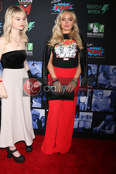 """Natalie Alyn Lind<br /> at """"Excelsior! A Celebration of the Amazing, Fantastic, Incredible & Uncanny Life of Stan Lee,"""" TCL Chinese Theater, Hollywood, CA 01-30-19<br /> David Edwards/DailyCeleb.com 818-249-4998"""