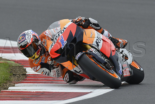 16.06.2012. Silverstone Circuit, England, UK.  MotoGP Qualification day.  Photo Casey Stoner