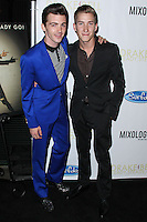 "LOS ANGELES, CA, USA - APRIL 17: Drake Bell, Talon Reid at the Drake Bell ""Ready Steady Go!"" Album Release Party held at Mixology101 & Planet Dailies on April 17, 2014 in Los Angeles, California, United States. (Photo by Xavier Collin/Celebrity Monitor)"