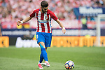 Yannick Ferreira Carrasco of Atletico de Madrid in action  during their La Liga match between Atletico de Madrid vs Athletic de Bilbao at the Estadio Vicente Calderon on 21 May 2017 in Madrid, Spain. Photo by Diego Gonzalez Souto / Power Sport Images