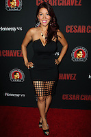 "HOLLYWOOD, LOS ANGELES, CA, USA - MARCH 20: Raquel Cordova, RAC-Q at the Los Angeles Premiere Of Pantelion Films And Participant Media's ""Cesar Chavez"" held at TCL Chinese Theatre on March 20, 2014 in Hollywood, Los Angeles, California, United States. (Photo by Celebrity Monitor)"