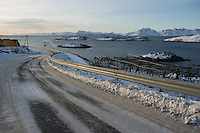 Isole Lofoten nella foto strada geografico Svolv&aelig;r 13/02/2016 foto Matteo Biatta<br /> <br /> Lofoten Islands in the picture street geographic Svolv&aelig;r 13/02/2016 photo by Matteo Biatta