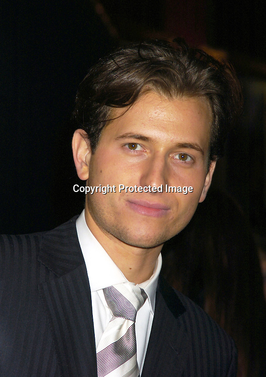 """Peter Cincotti ..at The New York Premiere of """"Beyond The Sea"""" on ..December 8, 2004 at the Ziegfeld Theatre. ..Photo by Robin Platzer, Twin Images"""