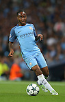 Raheem Sterling of Manchester City during the UEFA Champions League Group C match at The Etihad Stadium, Manchester. Picture date: September 14th, 2016. Pic Simon Bellis/Sportimage