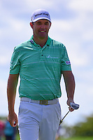 Padraig Harrington (IRL) after sinking a putt on 6 during round 1 of the Honda Classic, PGA National, Palm Beach Gardens, West Palm Beach, Florida, USA. 2/23/2017.<br /> Picture: Golffile | Ken Murray<br /> <br /> <br /> All photo usage must carry mandatory copyright credit (&copy; Golffile | Ken Murray)