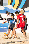 NAKAHARA Yuki of Japan in action during the Beach Soccer Men's Team Gold Medal Match between Japan and Oman on Day Nine of the 5th Asian Beach Games 2016 at Bien Dong Park on 02 October 2016, in Danang, Vietnam. Photo by Marcio Machado / Power Sport Images