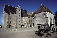 Europe/France/Limousin/23/Creuse/Lavafranche: La commanderie des Templiers