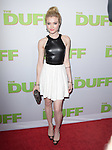 Skyler Samuels attends The CBS Films Los Angeles fan screening of THE DUFF held at The TCL Chinese 6 Theater  in Hollywood, California on February 12,2015                                                                               © 2015 Hollywood Press Agency