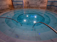 Therme Bogn Engiadina,  Scuol, Unterengadin, Graubünden, Schweiz, Europa<br /> Thermal bath Therme Bogn, Scuol, Scuol Valley, Engadine, Grisons, Switzerland