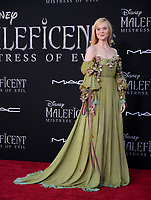 "LOS ANGELES, USA. September 30, 2019: Elle Fanning at the world premiere of ""Maleficent: Mistress of Evil"" at the El Capitan Theatre.<br /> Picture: Jessica Sherman/Featureflash"