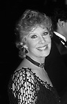Gwen Verdon attends The 41st Annual Tony Awards at the Mark Hellinger Theatre on June 7, 1987 in New York City.