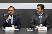 SÃO PAULO, SP, 10.04.2019: POLITICA-SP: João Doria (Governador) e Rodrigo Garcia (Vice Governador), apresentam o balanço do primeiro trimestre à frente do Governo do Estado de São Paulo, nesta quarta-feira, 10. ( Foto: Charles Sholl/Brazil Photo Press/Folhapress)