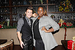 LOS ANGELES - DEC11: Blake McIver, Alex Newell at Scott Nevins Presents SPARKLE: An All-Star Holiday Concert to benefit The Actors Fund at Rockwell Table & Stage on December 11, 2014 in Los Angeles, California