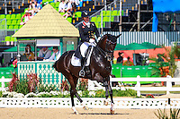 GBR-Fiona Bigwood rides Orthilia in the Individual Medal Competition Grand Prix Kur for the Equestrian Dressage. Rio 2016 Olympic Games, Centro Olímpico de Hipismo, Rio de Janeiro, Brazil. Monday 15 August. Copyright photo: Libby Law Photography