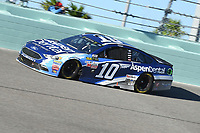 HOMESTEAD, FL - NOVEMBER 19: Danica Patrick drives during the Monster Energy NASCAR Cup Series Championship Ford EcoBoost 400 at Homestead-Miami Speedway on November 19, 2017 in Homestead, Florida. Credit: mpi04/MediaPunch /NortePhoto.com