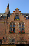 Huidevettershuis Tanner's Guild House 1450, Huidenvettersplein Tanner's Square, Bruges, Brugge, Belgium