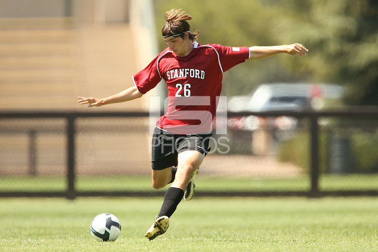 STANFORD, CA - AUGUST 20:  Taylor Amman of the Stanford Cardinal during Stanford's 0-0 tie with Sonoma State on August 20, 2009 in Stanford, California.