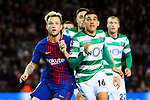 UEFA Champions League 2017/2018 - Matchday 6.<br /> FC Barcelona vs Sporting Clube de Portugal: 2-0.<br /> Ivan Rakitic vs Rodrigo Battaglia.