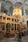Israel, Tel Aviv-Yafo, Easter Sunday at the Russian Orthodox Church of St. Peter and St. Tabitha in Jaffa