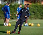 08.08.18 Rangers training: Steven Gerrard