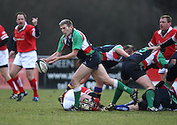 Brian Wilson in action during the charity match between the Ulster 1999 XV and a Wooden Spoon Select XV at Shaw's Bridge Belfast.  Mandatory Credit - Photo : John Dickson