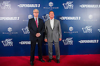 Stallone and Schwarzenegger Light Up Star-Studded Venetian Macao Red Carpet at The Expendables 3