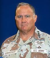 Gen. Norman Schwarzkopf, 1991, Photo By Michael Ferguson/PHOTOlink