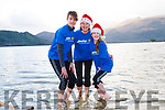 Getting ready for the annual Christmas day swim in Killarney at Dundag beach in Muckross. <br /> Left to right Oscar, Niki and Misha McCarthy.
