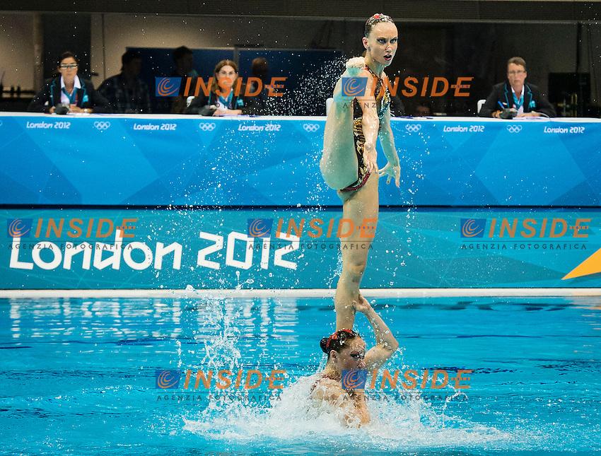 Russia RUS.Team Final.London 2012 Olympics - Olimpiadi Londra 2012.day 15 Aug.10 Synchronized Swimming.Photo G.Scala/Deepbluemedia.eu/Insidefoto